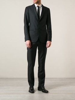 Classic Two Piece Suit by Giorgio Armani in Suits