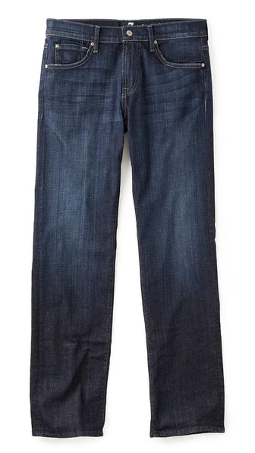 Austyn Straight Leg Jeans by 7 For All Mankind in Contraband