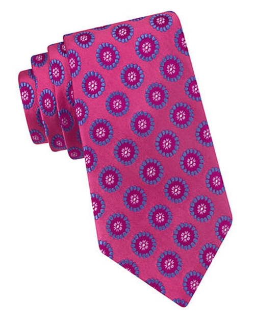 Sunburst Circle Silk Tie by Lord & Taylor in Suits