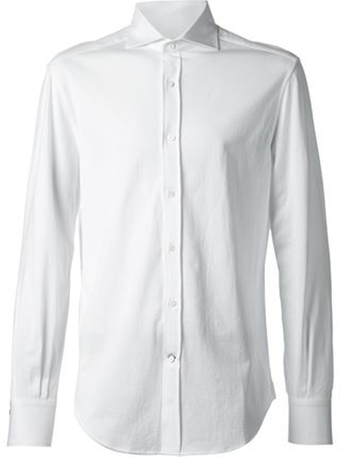 Spread Collar Shirt by Brunello Cucinelli in Suits - Season 5 Episode 1
