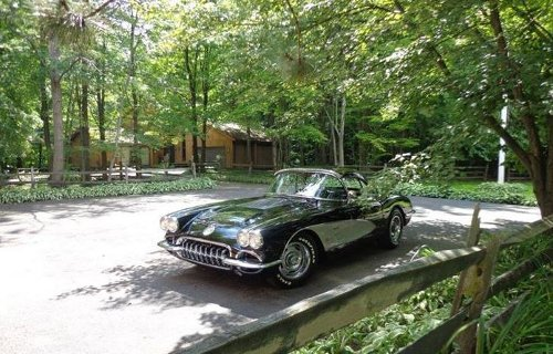 1958 Corvette Coupe by Chevrolet in The Best of Me
