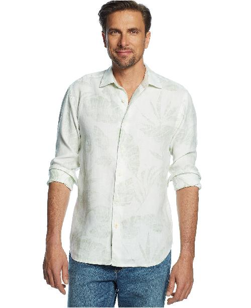 Linen Windward Breezer Shirt by Tommy Bahama in X-Men: Days of Future Past