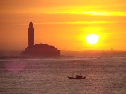 Casablanca, Morocco by Hassan II Mosque in Mission: Impossible - Rogue Nation