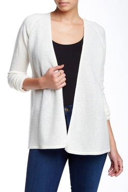 Ribbed Cashmere Cardigan by Griffen in Hail, Caesar!