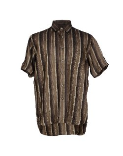Short Sleeve Striped Shirt by Ingram in Couple's Retreat