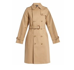 Julianne Cotton Trench Coat by APC in The Catch