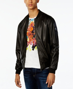 Black Leather Jacket by Versace in Now You See Me 2