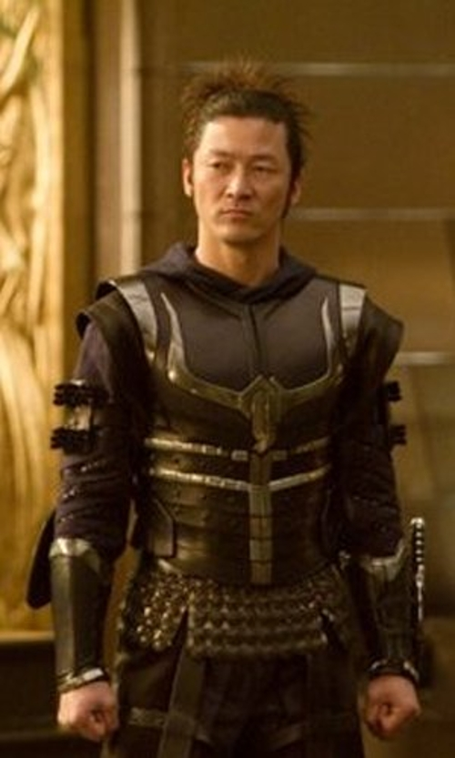 Custom Made 'Hogun' Costume by Alexandra Byrne (Costume Designer) in Thor