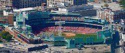 Boston, Massachusetts by Fenway Park in The Town