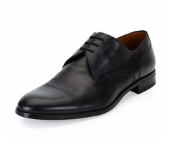 Bruxelles Leather Cap-Toe Dress Shoes by Bally in House of Cards