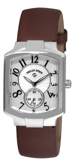Calfskin Leather Strap Watch by Philip Stein in The Women