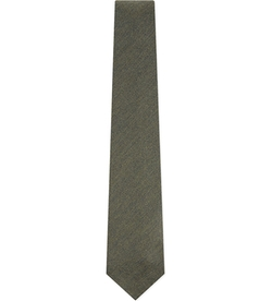 Solid Textured Wool Tie by Drakes in Scandal