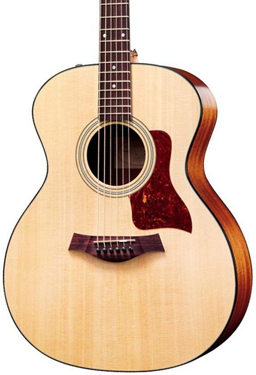 Grand Auditorium Acoustic-Electric Guitar by Taylor in Begin Again