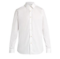 Single-Cuff Cotton-Poplin Shirt by Paul Smith in Empire
