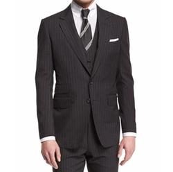Buckley Base Pinstripe Wool Suit by Tom Ford in Billions