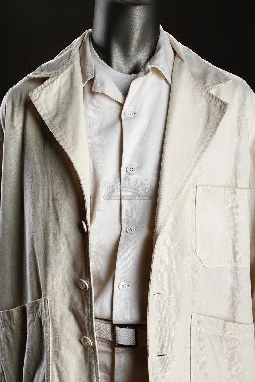 Orderly Uniform Outer Jacket (Leonardo DiCaprio) by Sandy Powell (Costume Designer) in Shutter Island