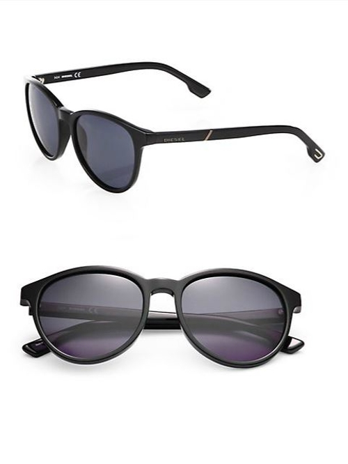 Oversized Vintage Round Sunglasses by Diesel in Fight Club
