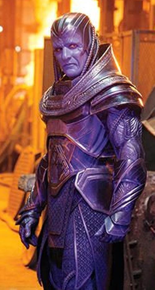 Custom Made Apocalypse Costume by Louise Mingenbach (Costume Designer) in X-Men: Apocalypse