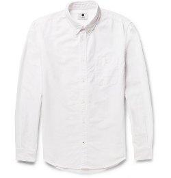 Derek Button-Down Oxford Shirt by NN.07 in San Andreas