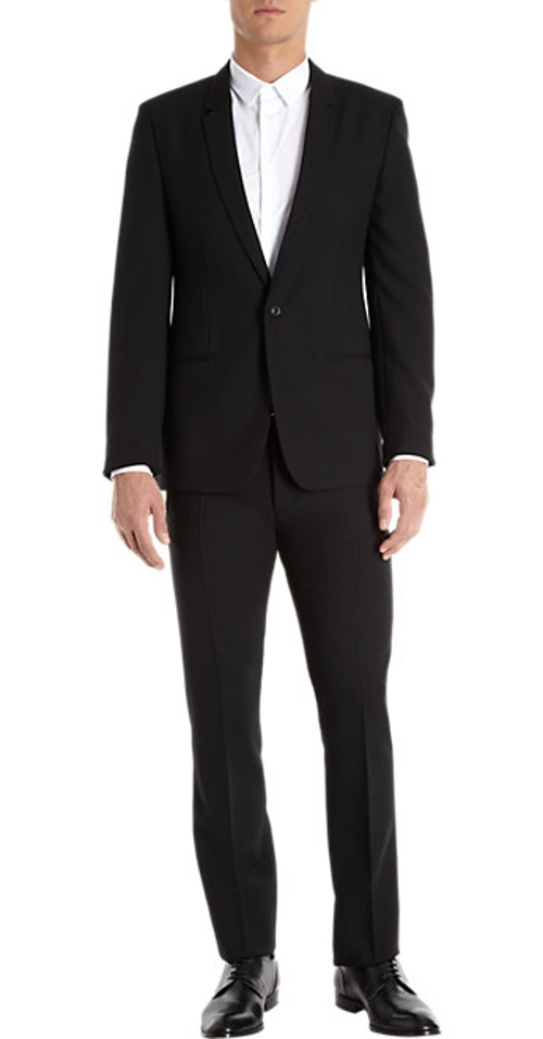 Solid Two-Piece Suit by Maison Margiela in Mission: Impossible - Rogue Nation