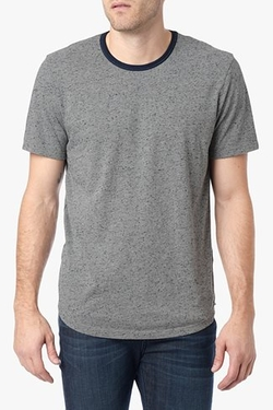 Ringer T-Shirt by 7 For All Mankind in The Walk