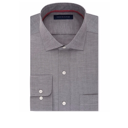Men's Classic-Fit Dress Shirt by Tommy Hilfiger in Ballers
