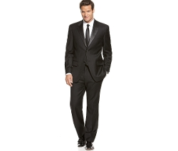 Notch Lapel Tuxedo Suit by Alfani in The Hangover