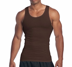 Premium Ringspun Cotton Ribbed Tank Top by Pro Club in Maze Runner: The Death Cure