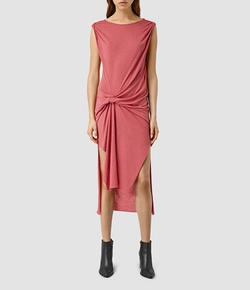 Riviera Dress by AllSaints in Mistresses
