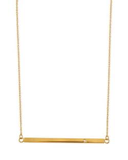 Bar-Pendant Necklace by Jennifer Zeuner	 in Jem and the Holograms