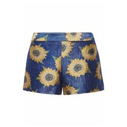 Floral-Jacquard Shorts by Alice + Olivia in Jane the Virgin