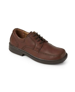 Kid's Billings Junior Leather Lace-Up Shoes by Florsheim for Kids in Pan