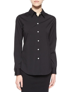 Tenia Long-Sleeve Blouse by Theory in How To Get Away With Murder