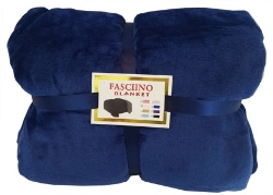 Plush Velour Mink Throw Blanket by Fasciino in Barely Lethal
