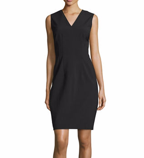 Gwenyth Sleeveless V-Neck Sheath Dress by Elie Tahari in How To Get Away With Murder - Season 3 Episode 3