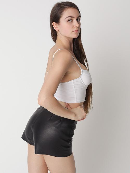 Leather Tap Short by American Apparel in Brick Mansions