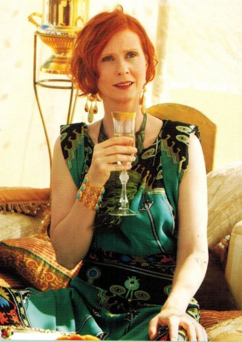 Printed Maxi Dress by Mara Hoffman in Sex and the City 2