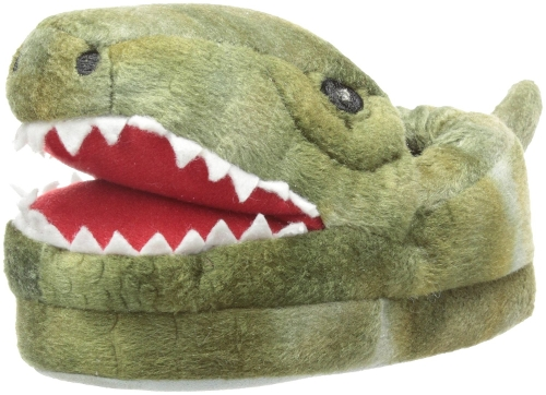 Light-Up Open Mouth Dino Slippers by Stride Rite in Adult Beginners