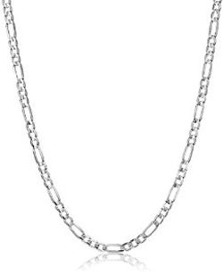 Figaro Chain Necklace by Amazon Collection in Southpaw