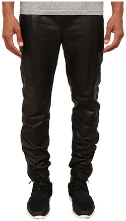 Leather Moto Jogger Pants by Vince in Empire