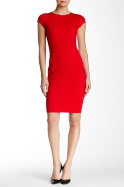 Cap Sleeve Bodycon Dress by Love...Ady in New Girl