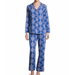 Damask-Print Pajama Set by Bedhead in The Layover