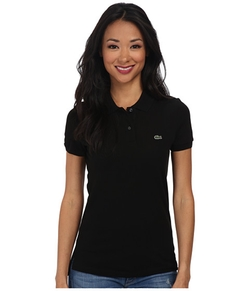 Classic Fit Pique Polo Shirt by Lacoste in Supergirl