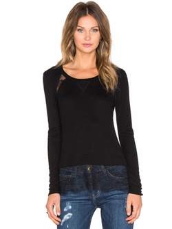 Long Sleeve Top by Heather in Joshy