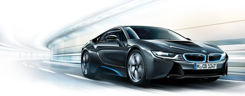 i8 Concept Car by BMW in Mission: Impossible - Ghost Protocol
