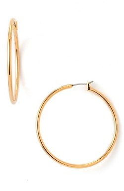Classic Hoop Earrings by Nordstrom in The DUFF