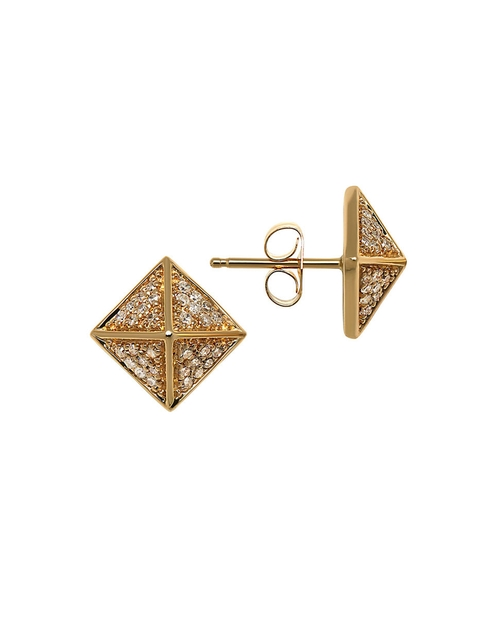 Pyramid Stud Earrings by Lord & Taylor in Scream Queens