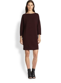 Silken-Back Wool Sweater Dress by Vince in Before I Wake