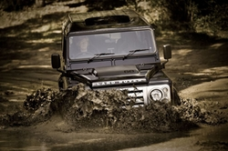 Defender 110 SUV by Land Rover in Fast & Furious 6