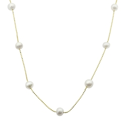 Imperial Freshwater Cultured Pearl Necklace by PearLustre in Jem and the Holograms